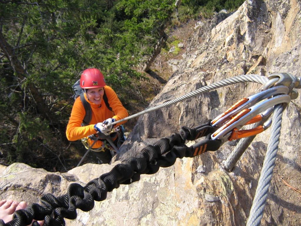 Klettersteig Nasenwand : Galerie klettersteig