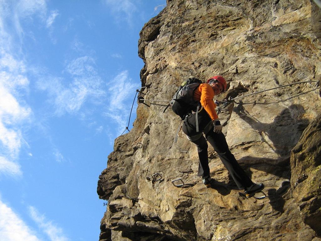 Klettersteig Nasenwand : 20091107 ks nasenwand