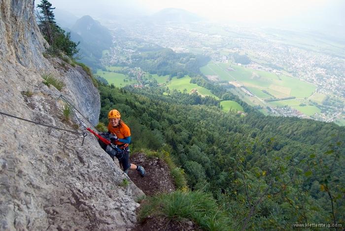 Via Kapf Klettersteig : 20100904 ks vlbg kapf 20100904130715