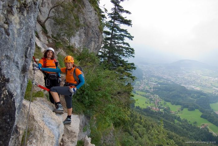 Klettersteig Via Kapf : Ks vlbg kapf