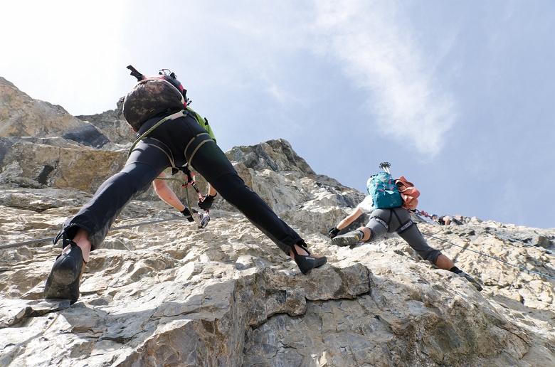 Klettersteig Tabaretta : Ks tabaretta