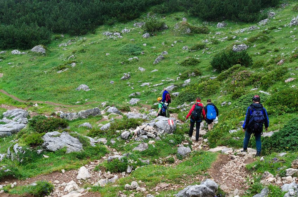 Klettersteig Achensee : 5 gipfel klettersteige achensee pockkogel kuehtai tirol
