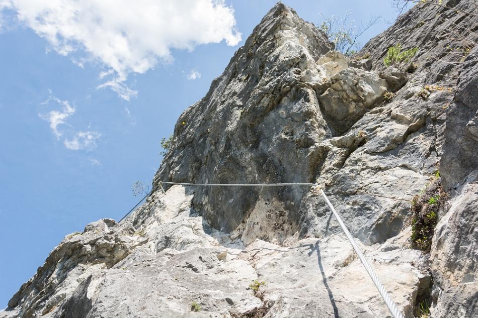 Klettersteig Zams : Ks zams